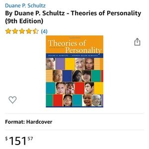 EUC Theories of Personality 9th Edition